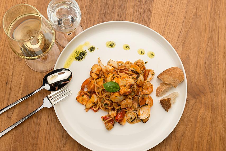 Speisen Da Vinci - Pasta | Meeresfrüchte